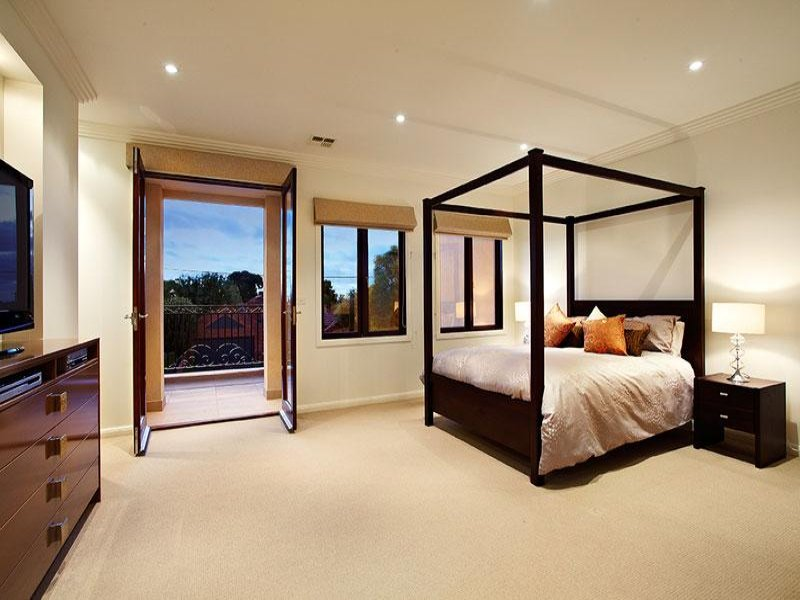 Modern French Doors Bedroom — Built With Polymer Design ...