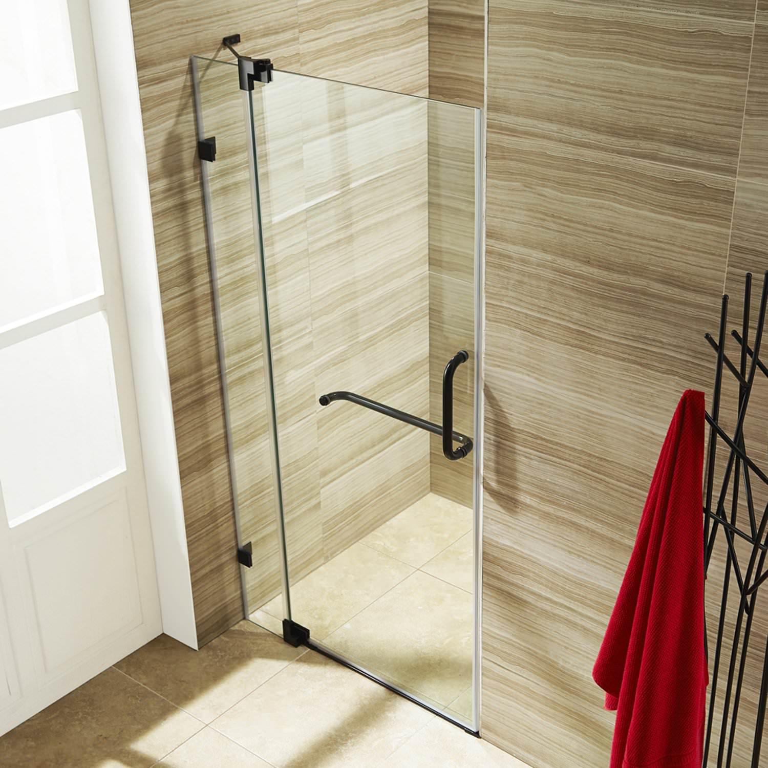 Glass Shower Doors Lowes Built With Polymer Design