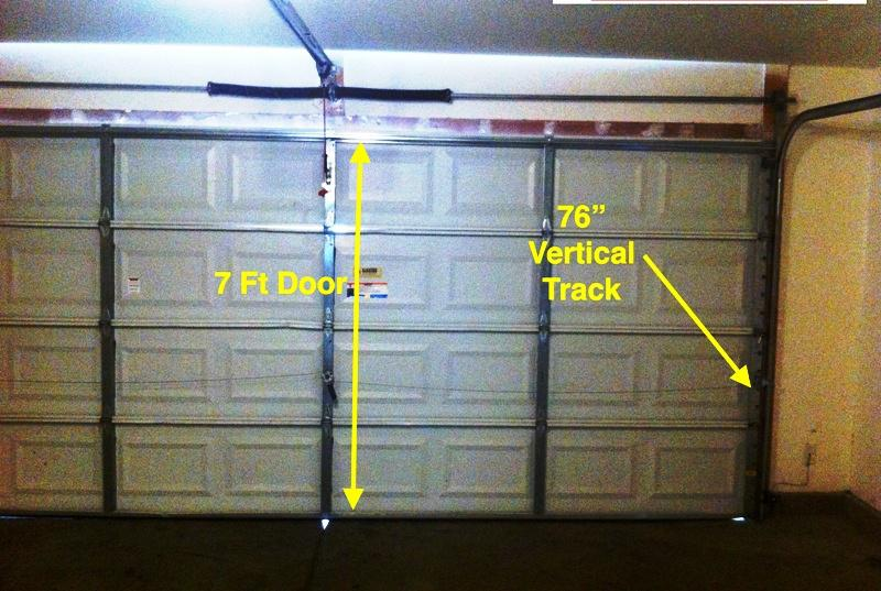 Garage Door Rails Track Lowes Built With Polymer Design