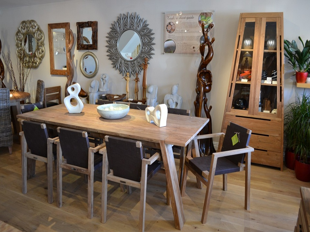 Rustic Distressed Dining Room Tables — Built With Polymer ...