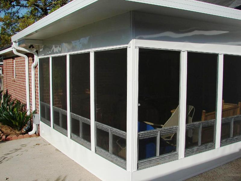 3 Season Porch Storm Windows Built With Polymer Design