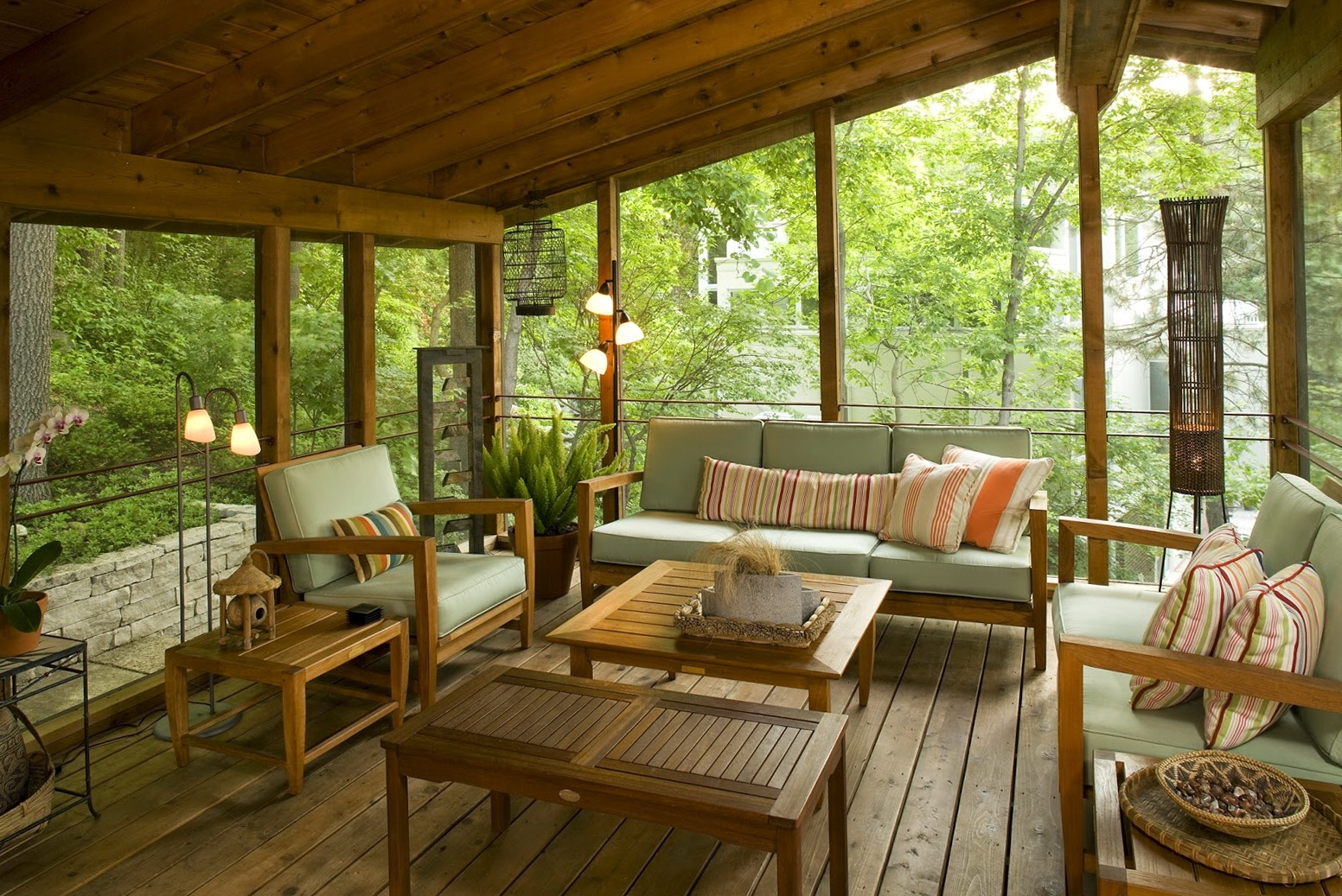 10 Interesting Back Porch Design Perfect For Everything ... on Apartment Back Porch Ideas id=97719