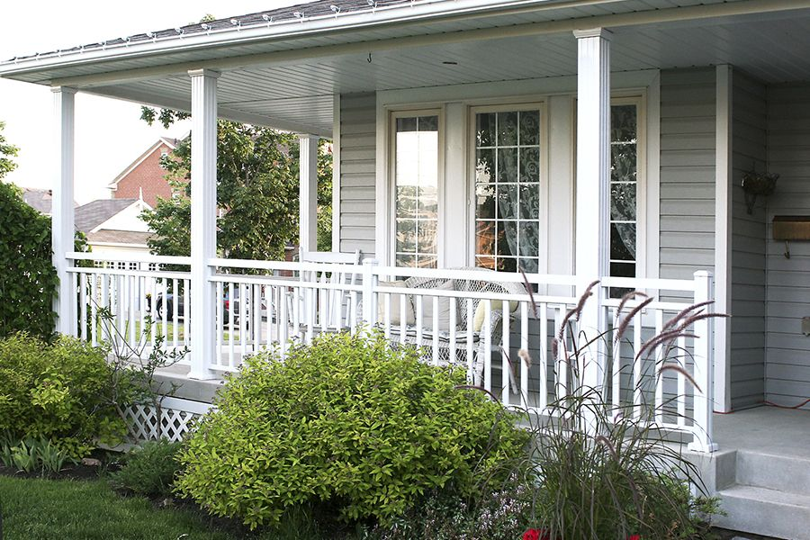Aluminum Porch Railing Systems — Built With Polymer Design : The