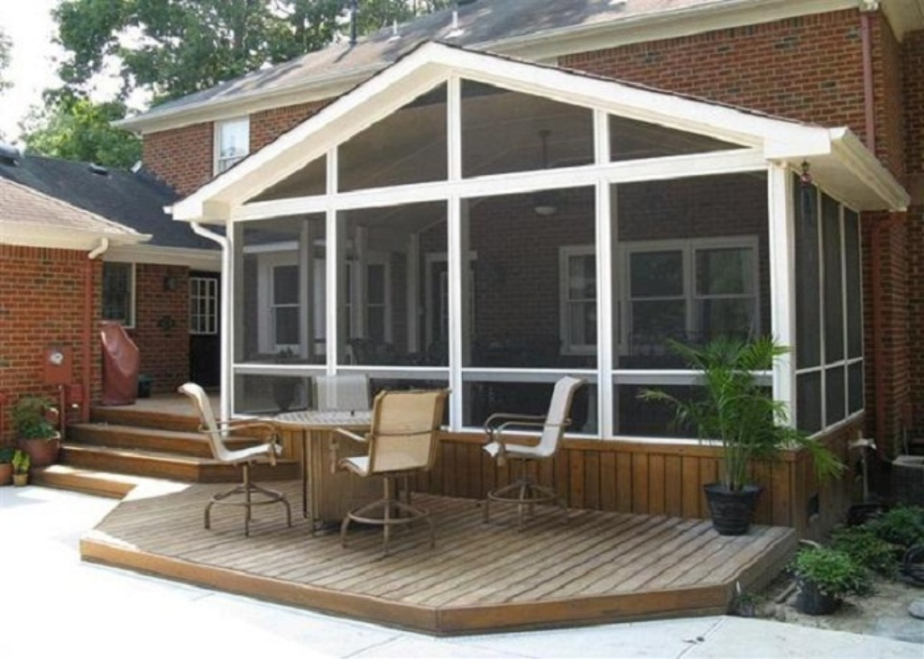 Lovable Screen Porch Designs — Built With Polymer Design ...