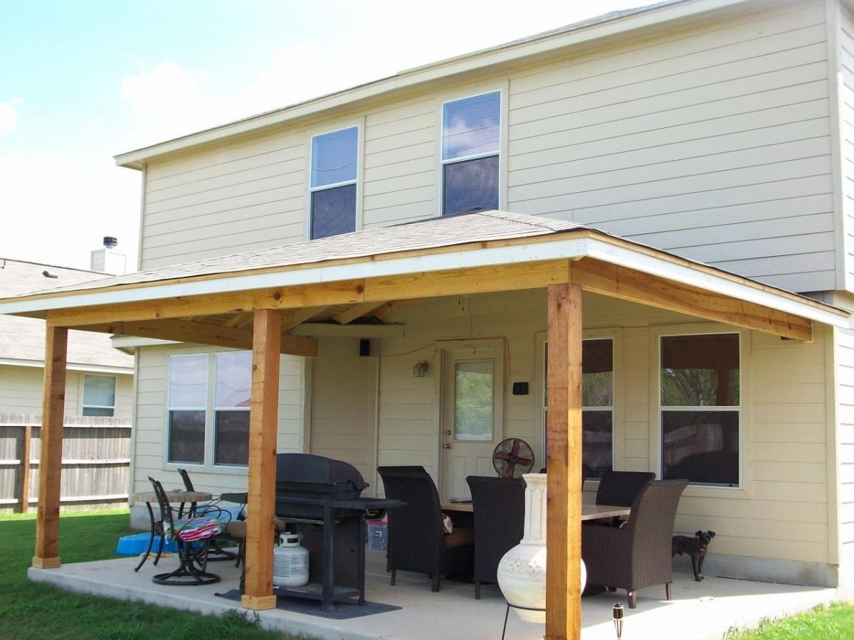 Image Of: Adding A Back Porch To Your House