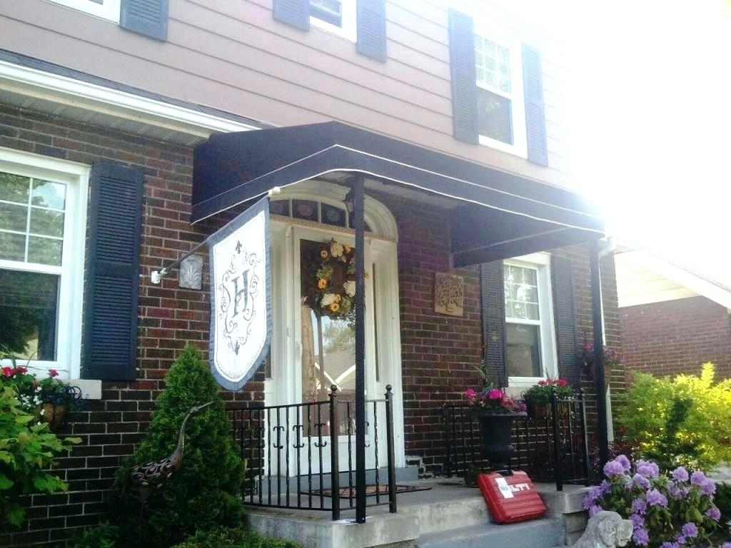 Good Idea Front Porch Awning — Built With Polymer Design