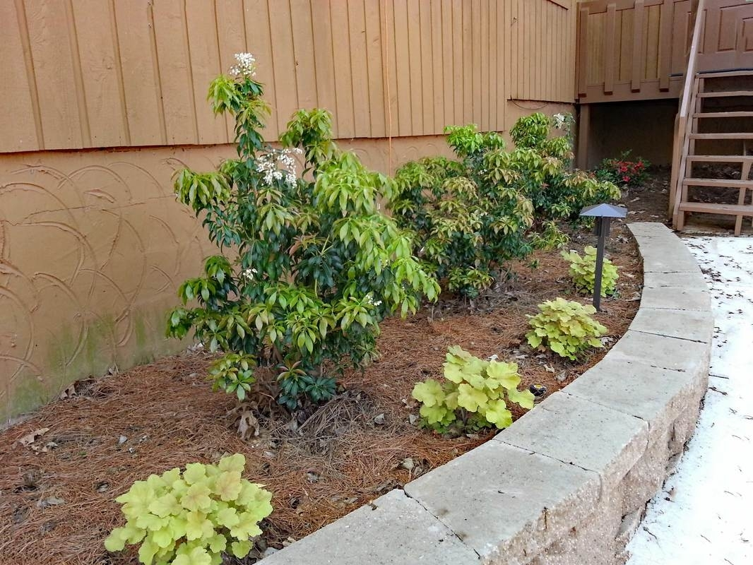 Landscape Projects With Railroad Ties Built With Polymer Design